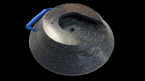 Stecktellerplatte rund 80 / 100 mm Höhe
