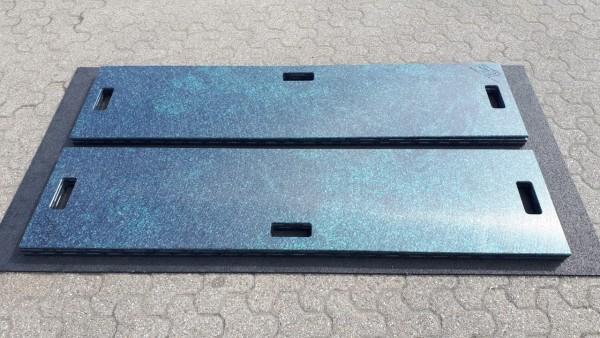 Lastverteilungsplatte 500 x 2000 x 15 mm glatt