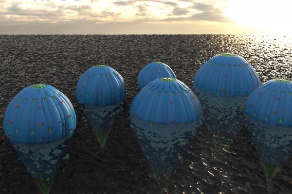 offene Schwimmer Fallschirmtaschen bis 50 Tonnen Tragkraft