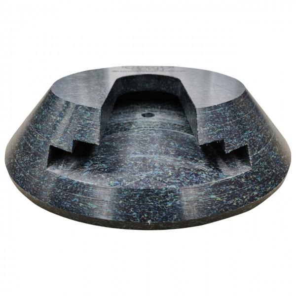 Stecktellerplatte rund - 400 x 80 mm passend für Palfinger PK 7.501K SLD