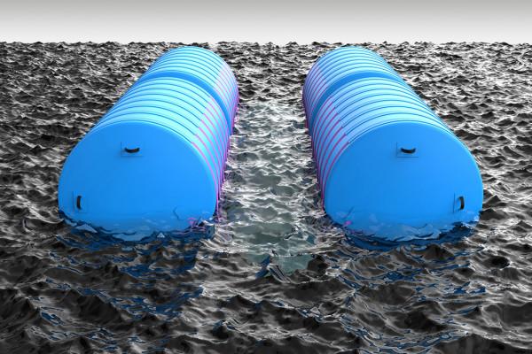Bergungs-Ponton Schwimmkörper bis 48 to. Hebekraft