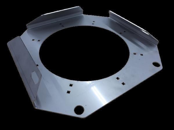 Halter für Stecktellerplatte rund & quadratisch - 400/500 mm