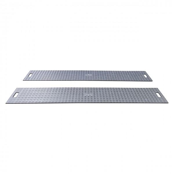 Fahrspurplatte 500 x 2000 x 15 mm Kastenstruktur