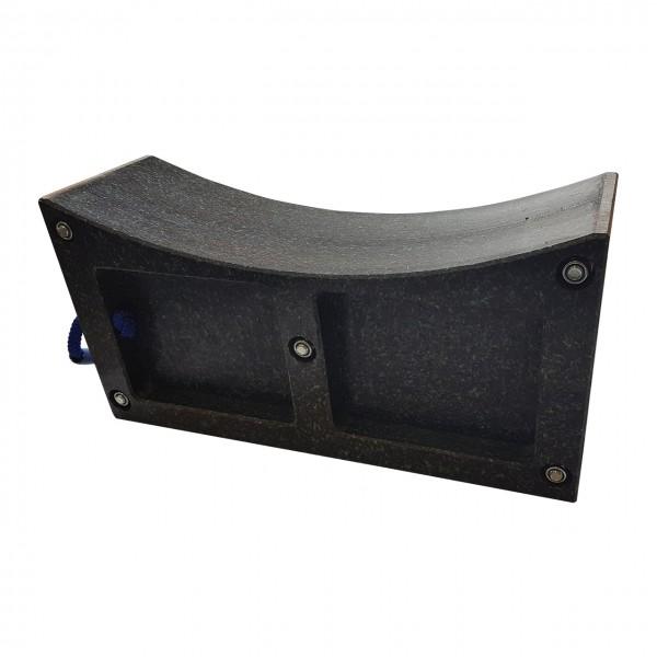 Towing Block - 160 mm breit - Abstellbock für Achsen - Radunterstellbock, Set (2 Stück)